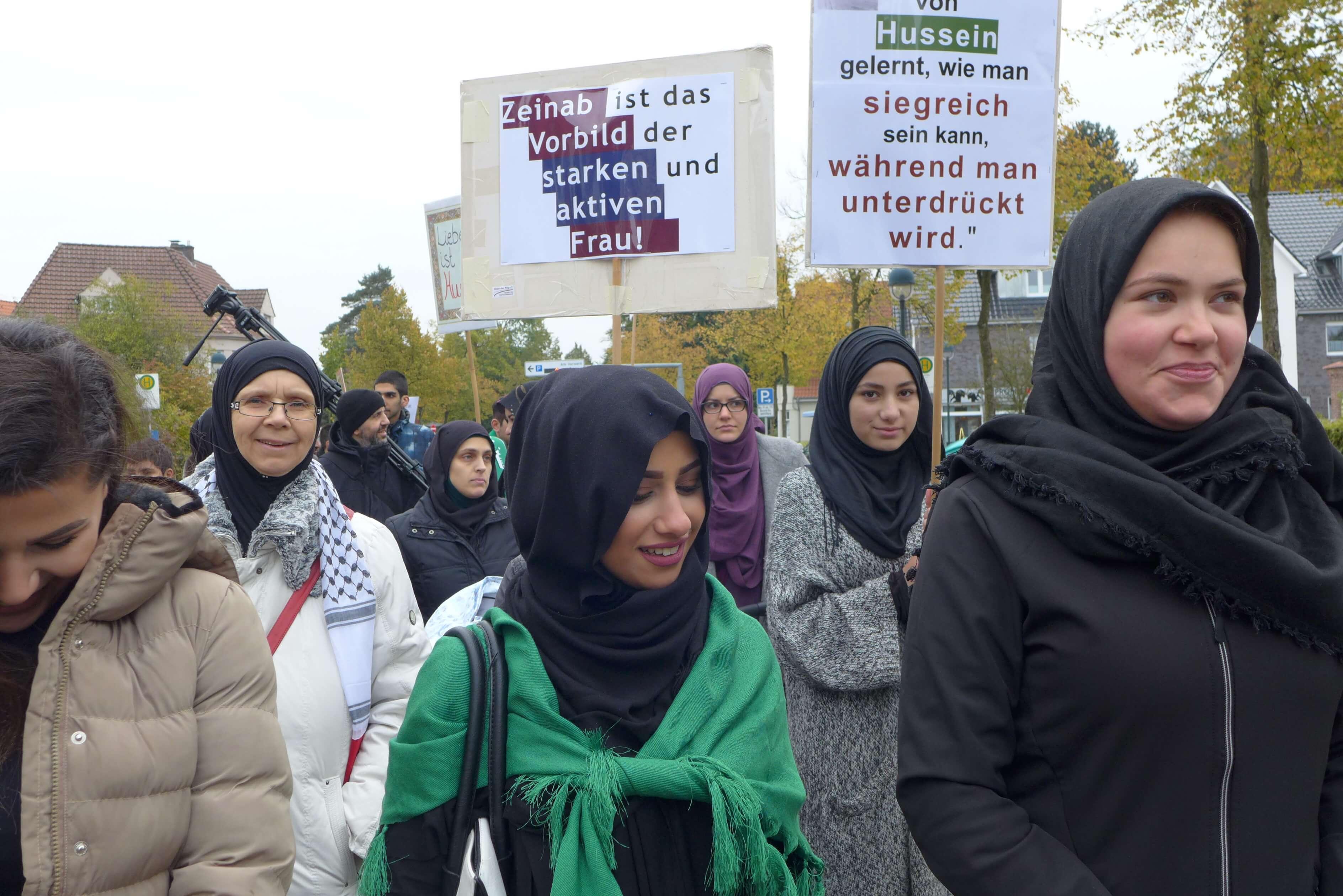 4. Delmenhorster Friedensmarsch zu Aschura